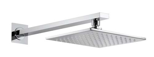 click on Square Showerhead Kit (Wall) image to enlarge