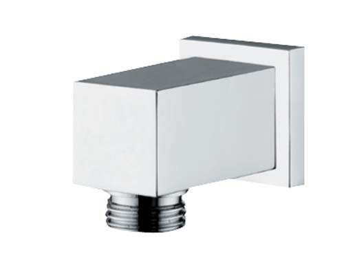 click on Square Wall Outlet Chrome image to enlarge