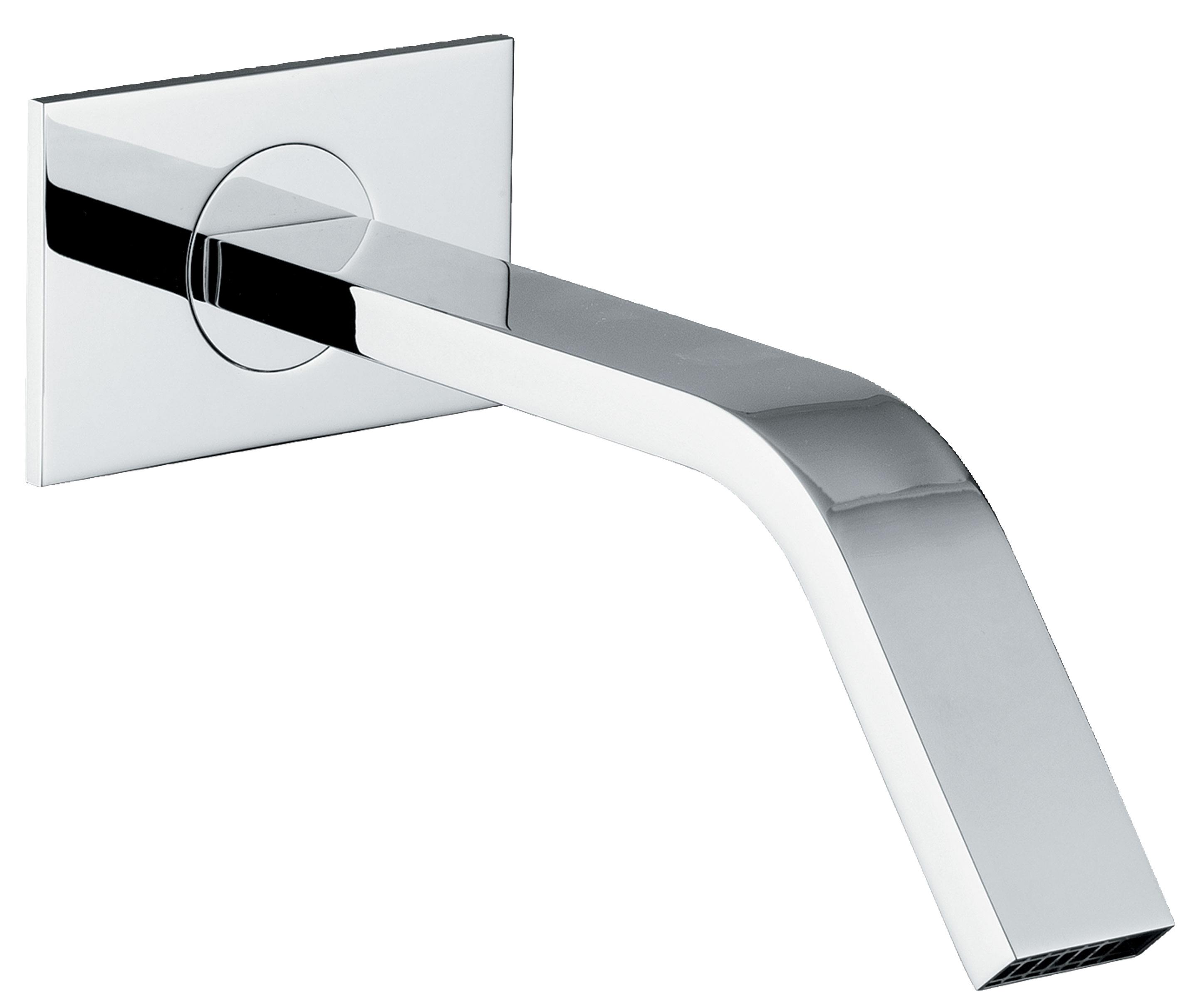 click on Square Wall Mounted Bath Spout image to enlarge