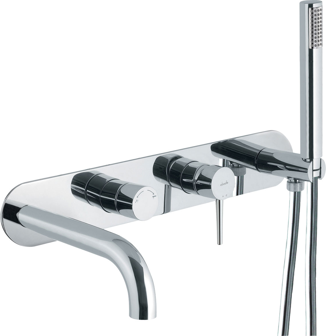 click on Wall Mounted Bath Shower Mixer image to enlarge