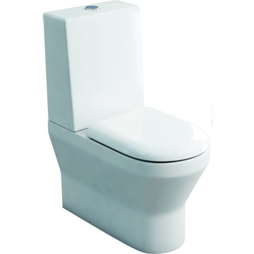click on Close Coupled WC (fully back to wall) - One Piece Cistern image to enlarge