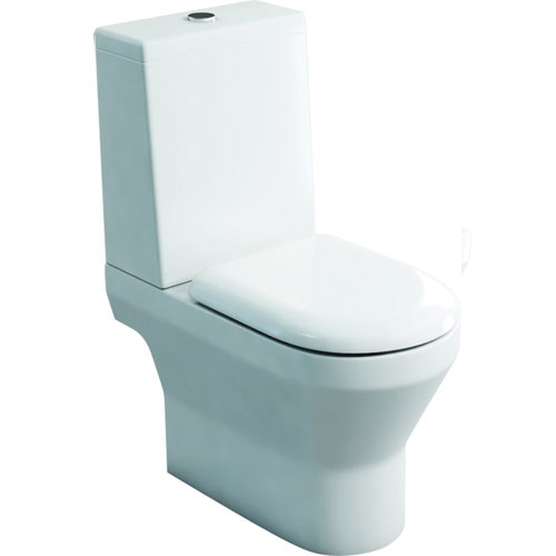click on Close Coupled WC (open back) - Standard Cistern Lid image to enlarge