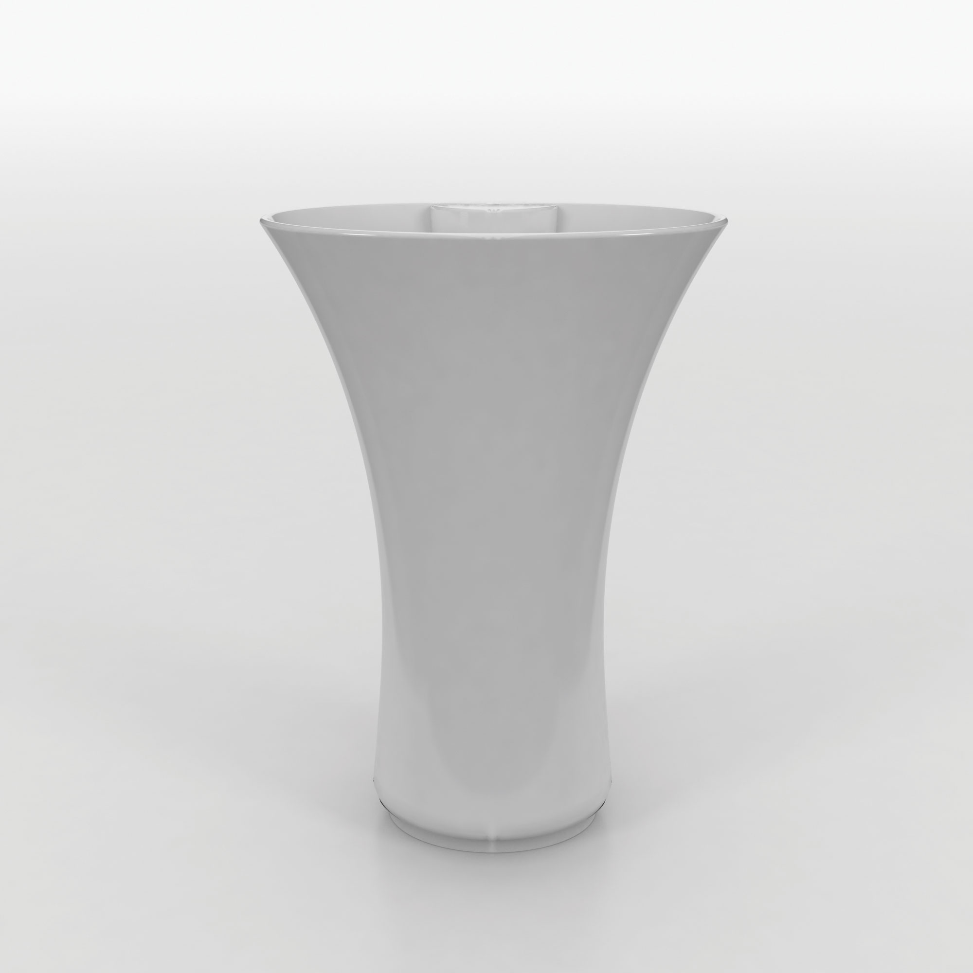 click on Freestanding Basin with Integrated Pedestal image to enlarge