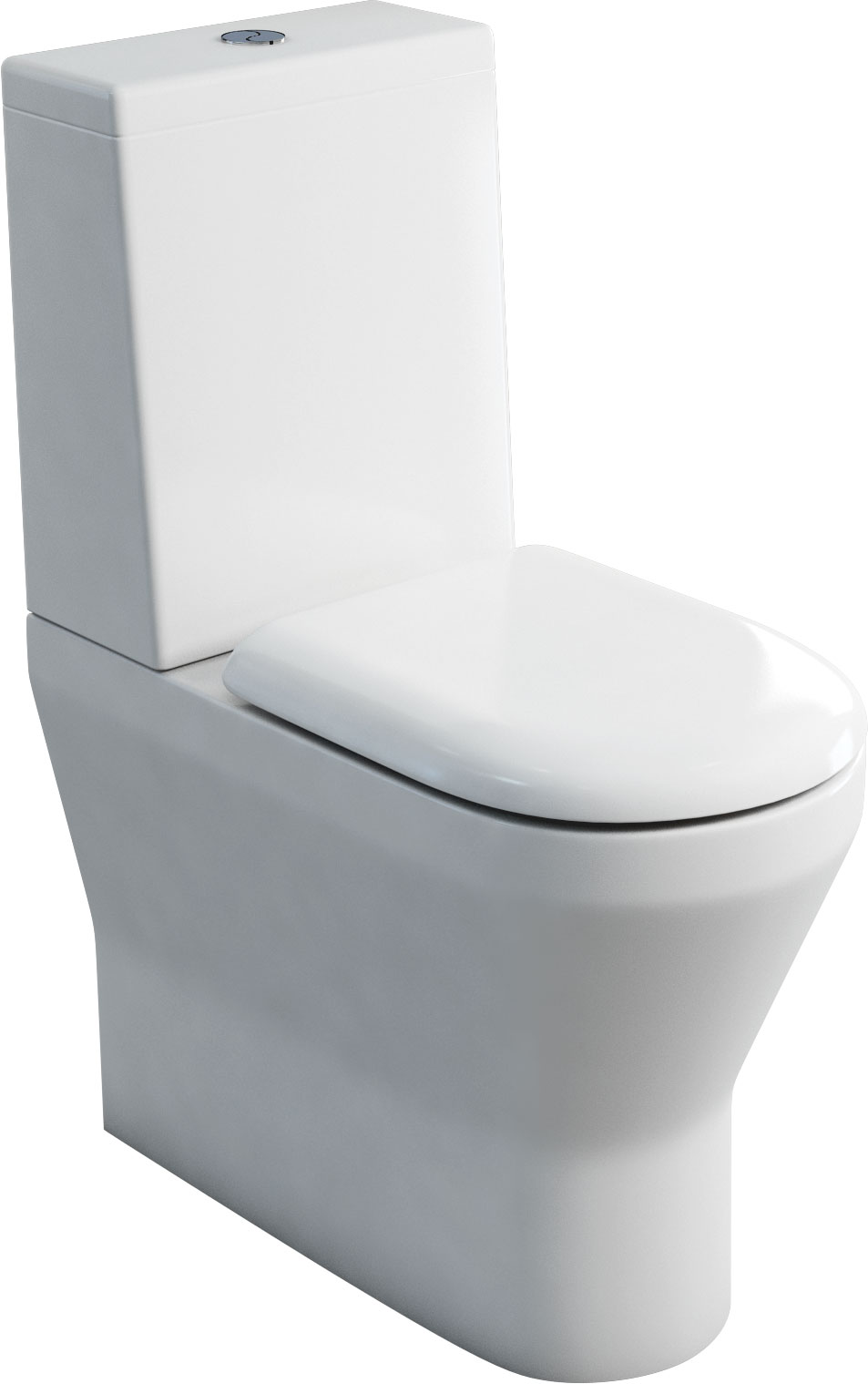 click on Comfort Close Coupled WC - Standard Cistern Lid image to enlarge