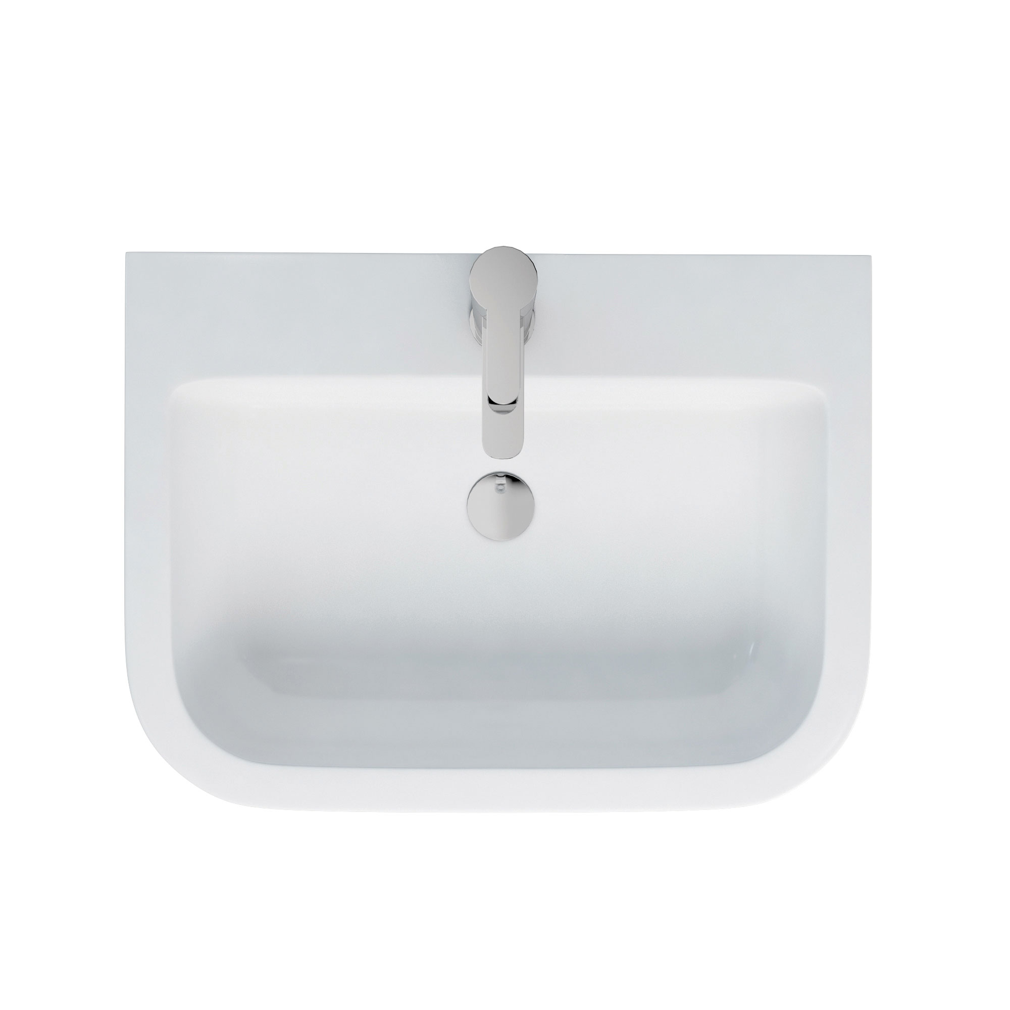 click on Curve Semi-Recessed Basin image to enlarge