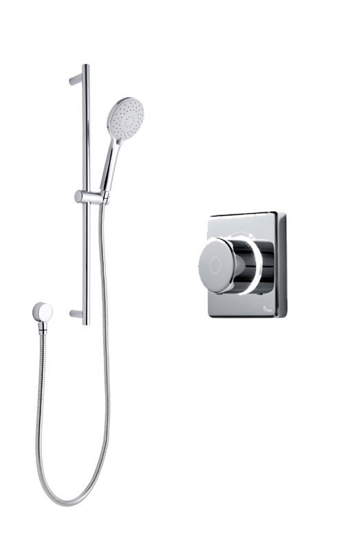 click on Digital Shower with with Slide Rail Kit image to enlarge