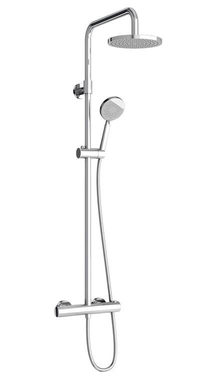 click on Round Exposed Thermostatic Shower Valve image to enlarge