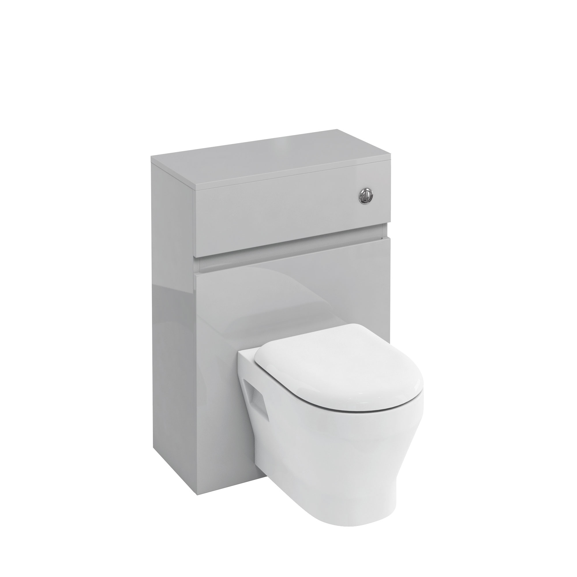 click on WC Unit with Flush Button for Wall Hung WC image to enlarge