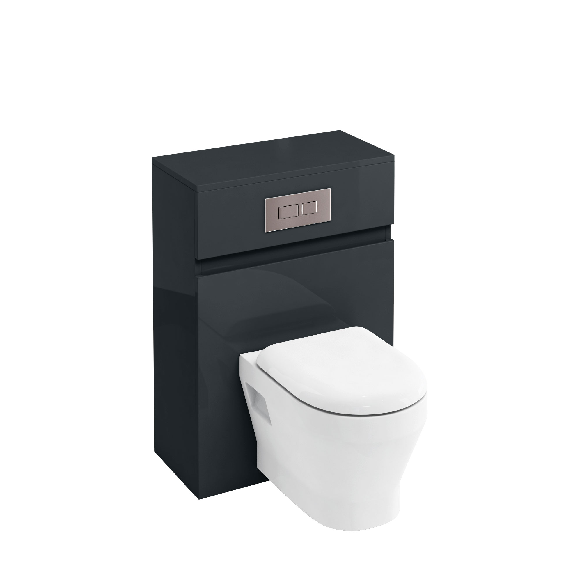 click on WC Unit with Flush Plate for Wall Hung WC image to enlarge