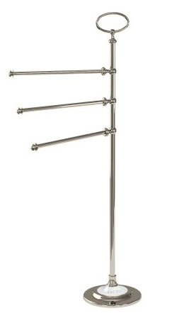 click on Freestanding Triple Towel Rail Stand image to enlarge