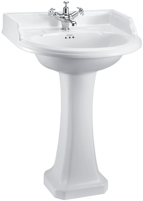 click on Round Basin & Pedestal image to enlarge