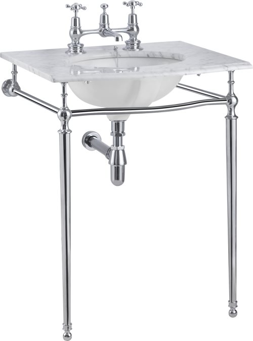 click on Chrome Wash Stand image to enlarge