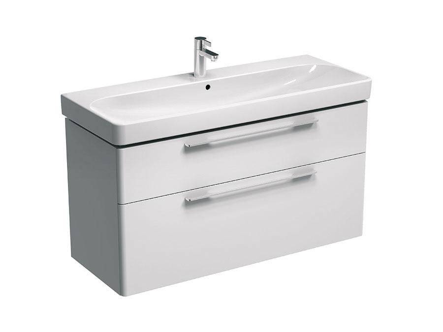 click on Vanity Unit for Double Basin with Drawers image to enlarge