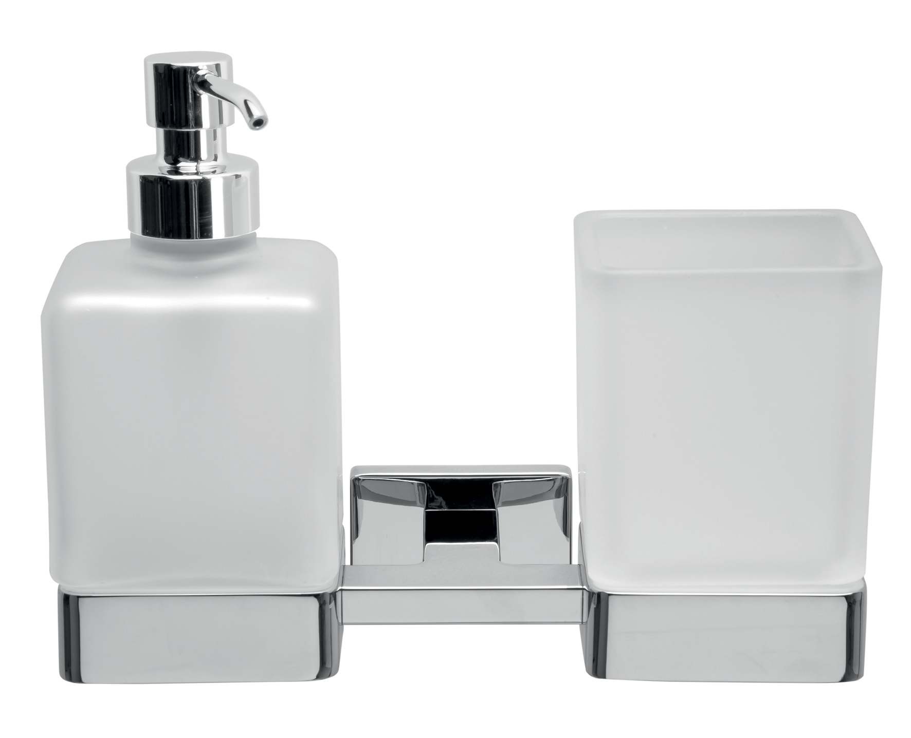 click on Double Tumbler & Soap Dispenser image to enlarge