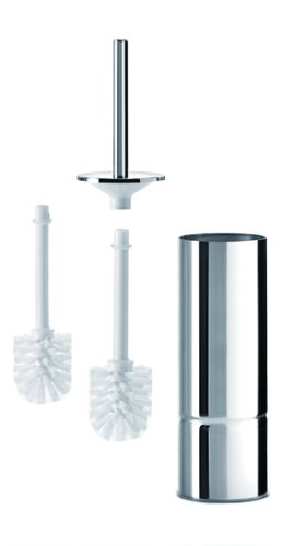 click on Toilet Brush & Holder (incl spare brush) image to enlarge