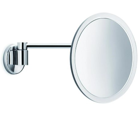 click on Magnifying Mirror - Round clear framed and jointed arm image to enlarge