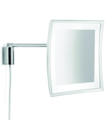 click on Magnifying Mirror - Illuminated LED, wall mounted. image to enlarge
