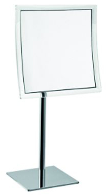 click on Magnifying Mirror - Square Freestanding image to enlarge