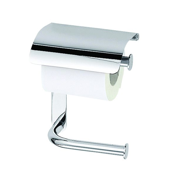 click on Double Toilet Roll Holder with Cover image to enlarge