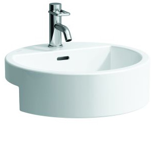 click on Round Semi Recessed Basin image to enlarge
