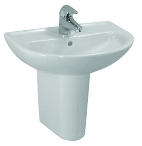 click on Round Hand Basin and Pedestal image to enlarge