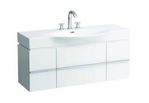 click on Vanity Unit with Single Drawer and 2 Doors image to enlarge