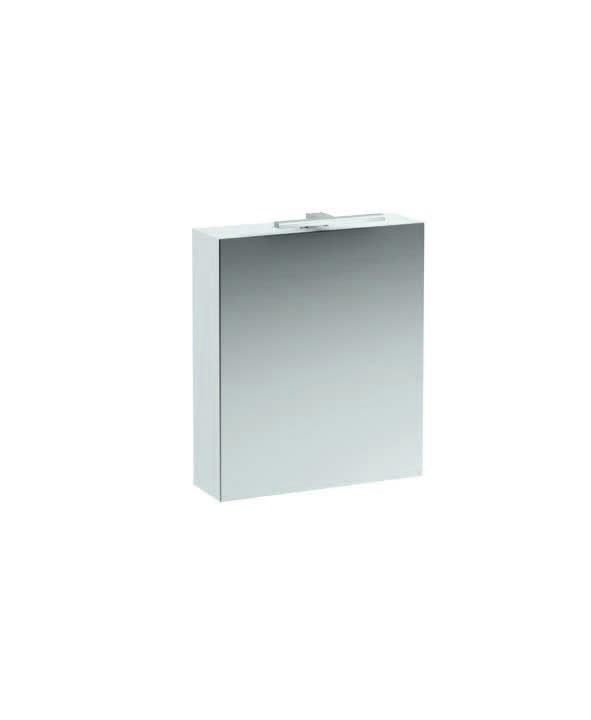 click on 60cm Mirrored Cabinet with Light image to enlarge