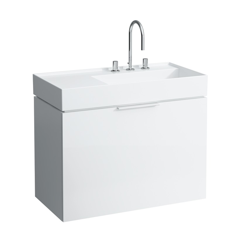 click on 90cm Vanity Unit with 1 Drawer image to enlarge