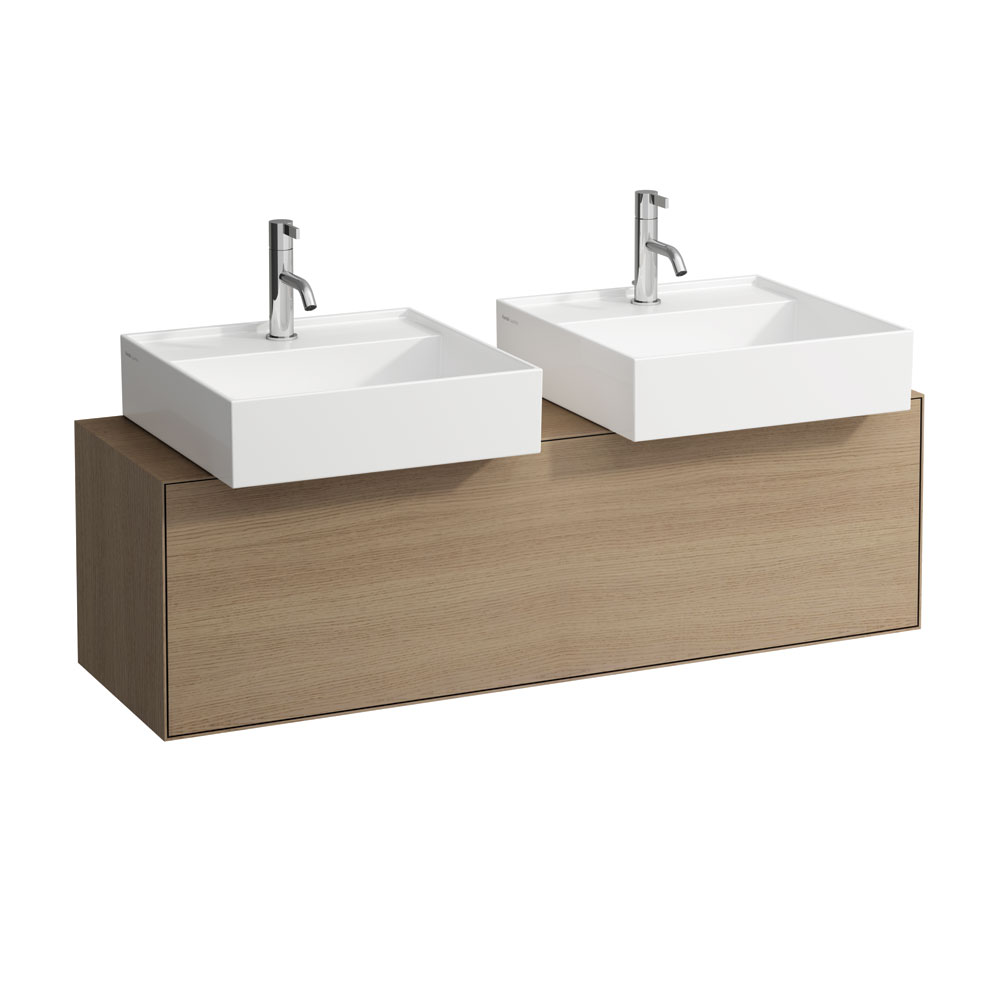 click on 120cm Vanity Unit for 2 x Sit on Basins image to enlarge