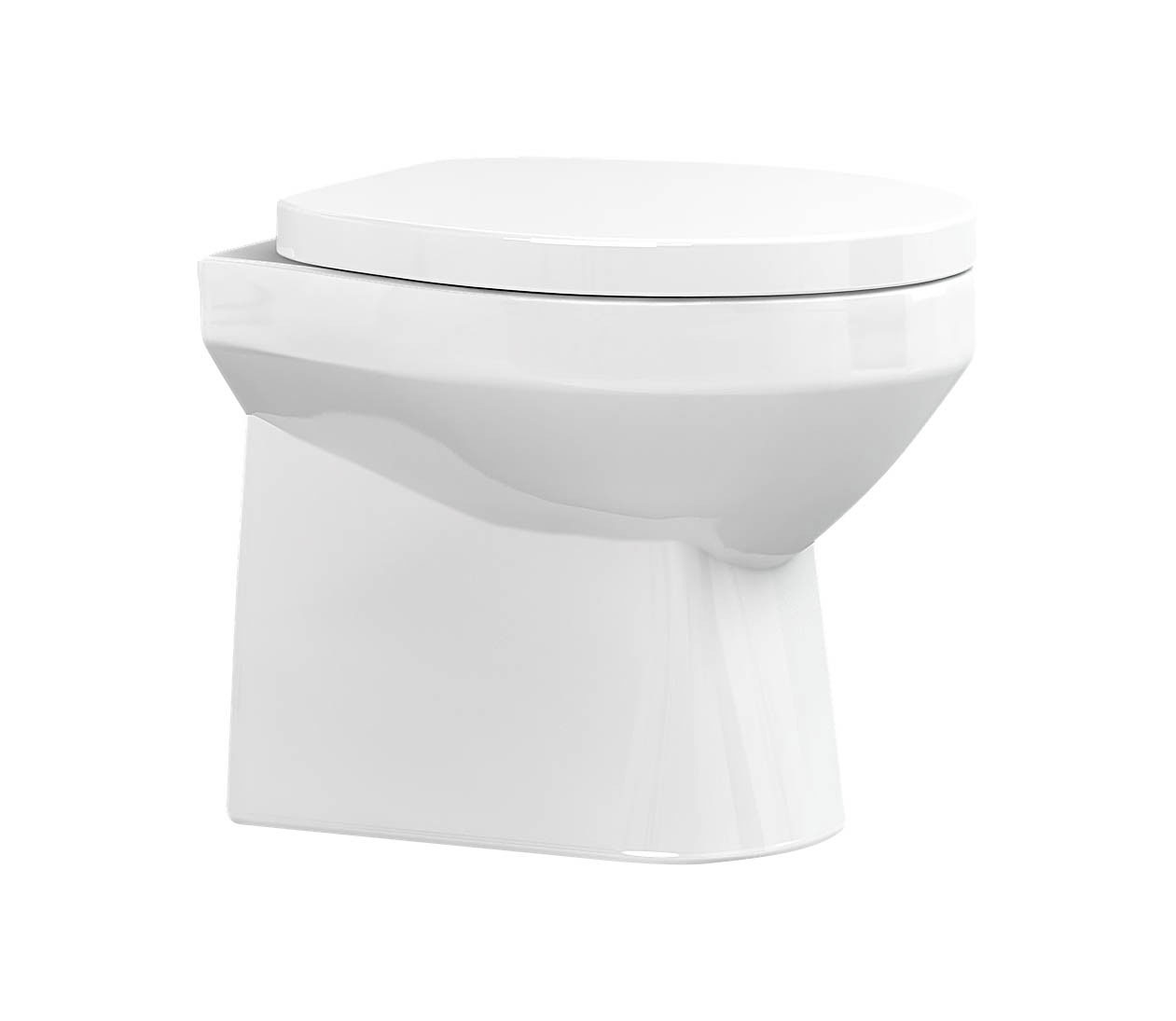 click on Distinct Short Semi Recessed Basin image to enlarge