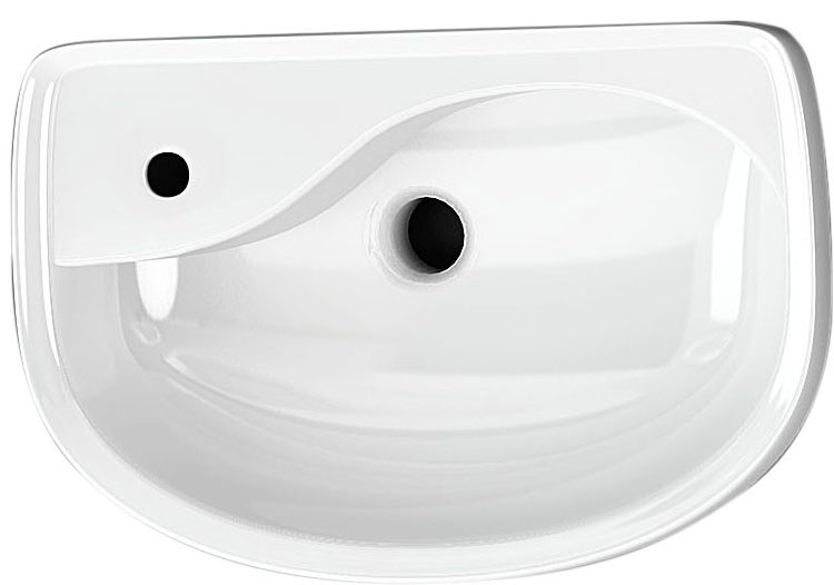click on Distinct Semi-Recessed Basin image to enlarge