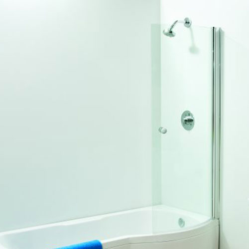 click on P Curved Bath Screen image to enlarge