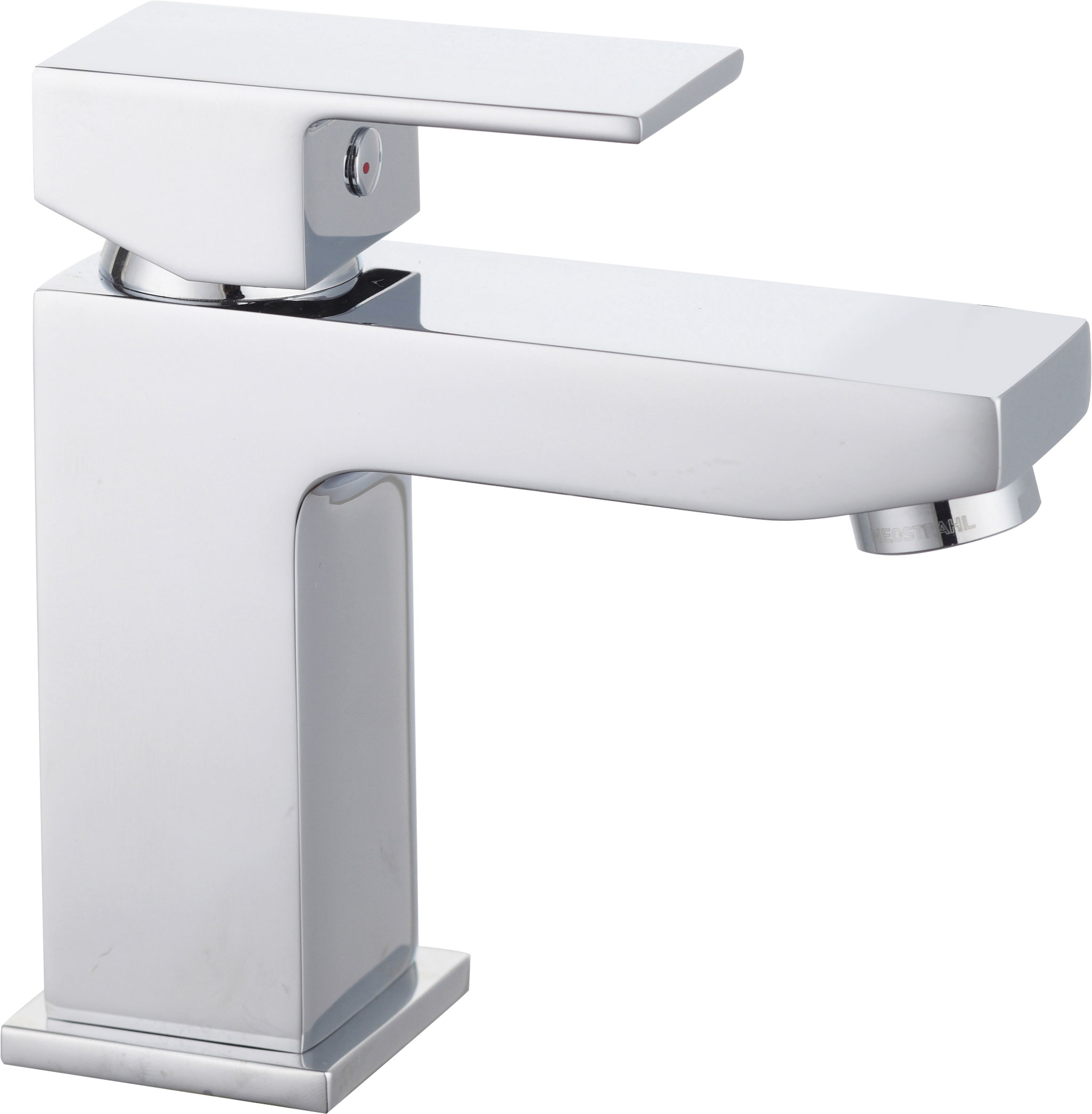 click on Monobloc Basin Mixer with Sprung Plug Waste image to enlarge
