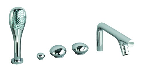 click on Pebble 5 Hole Bath Shower Mixer image to enlarge