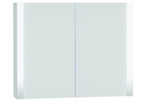 click on Double Door Illuminated Mirror Cabinet image to enlarge