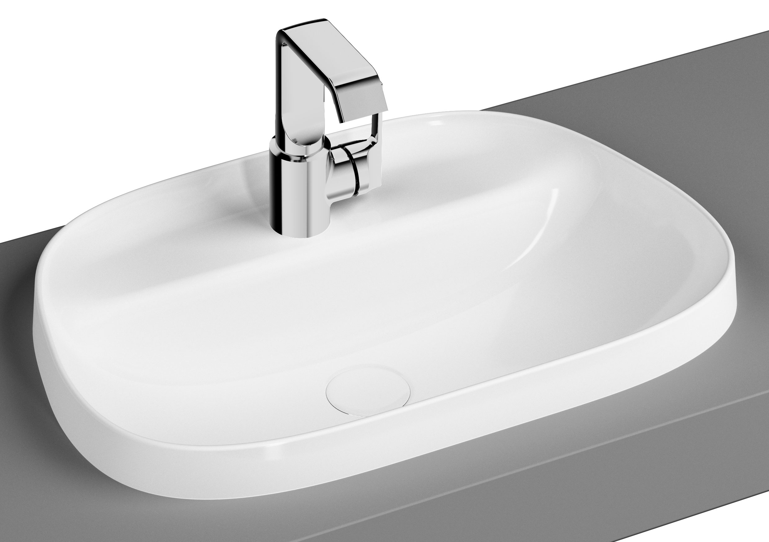 click on TV Countertop Basin image to enlarge