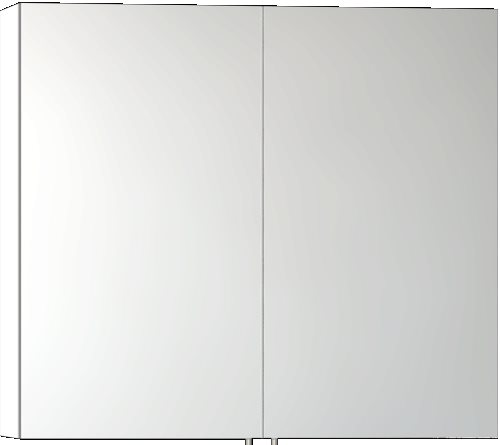 click on Classic Double Door Mirror Cabinet image to enlarge
