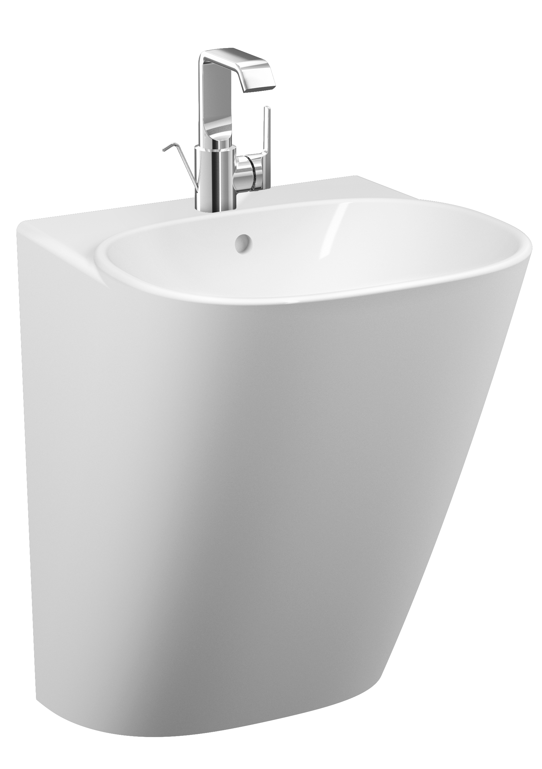 click on Half Monoblock Basin image to enlarge