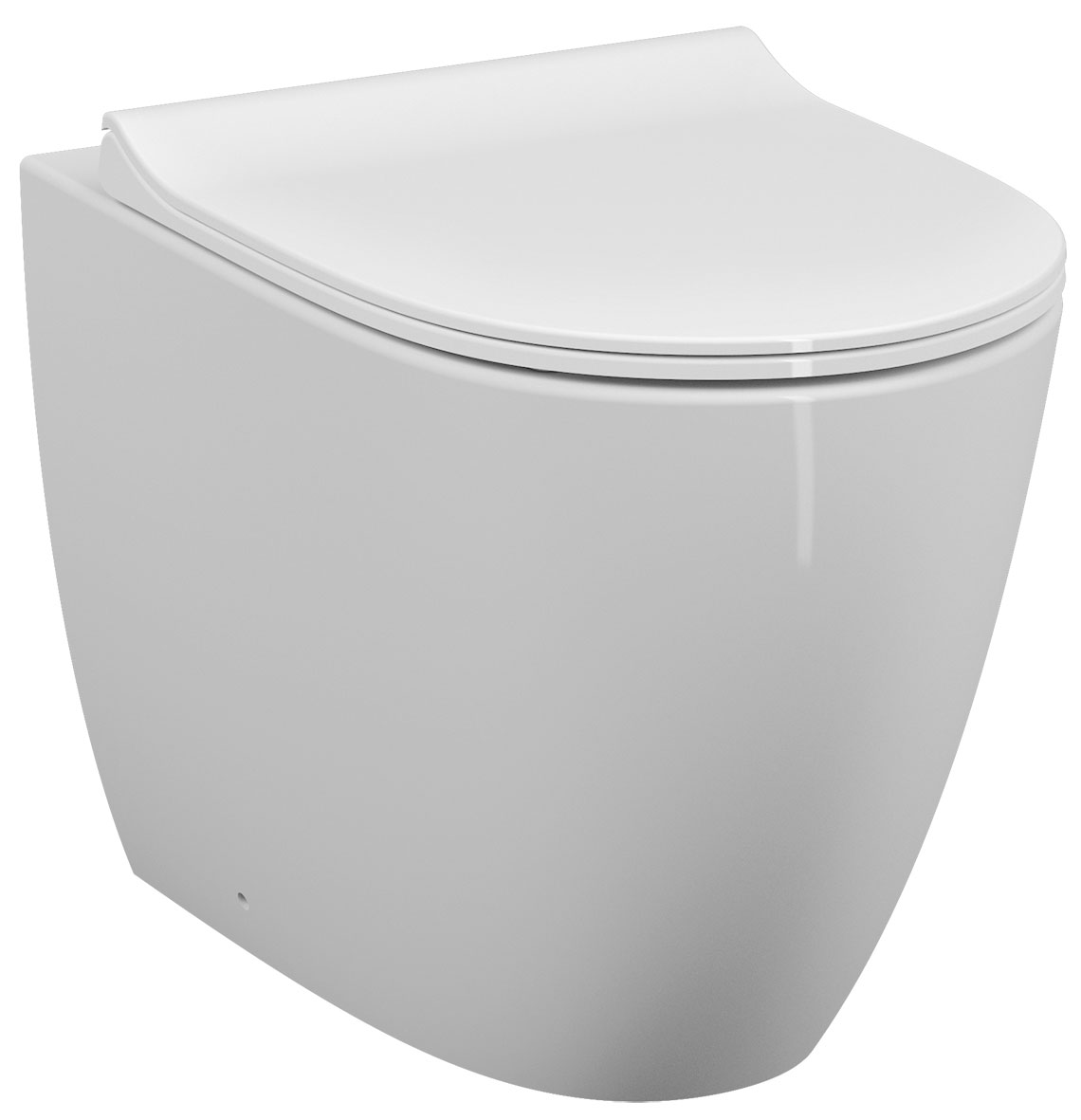 click on Sento Rimless Compact Wall Hung WC image to enlarge