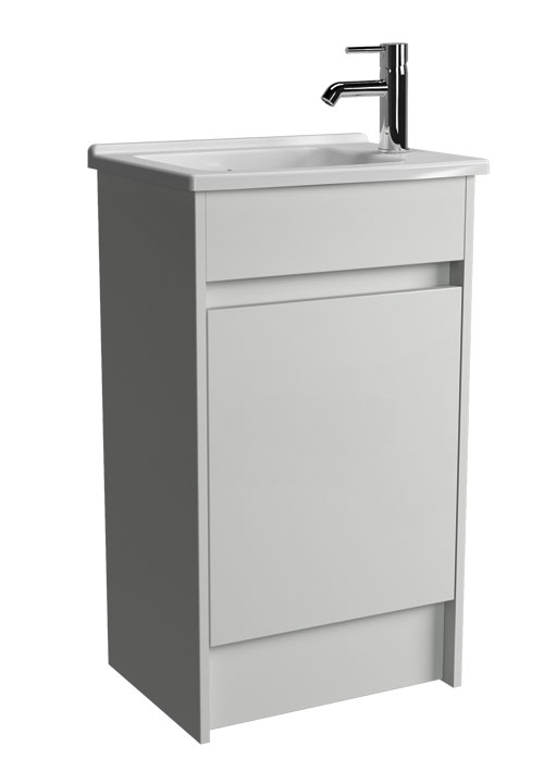 click on 50cm Floor Standing Vanity Unit and Basin image to enlarge