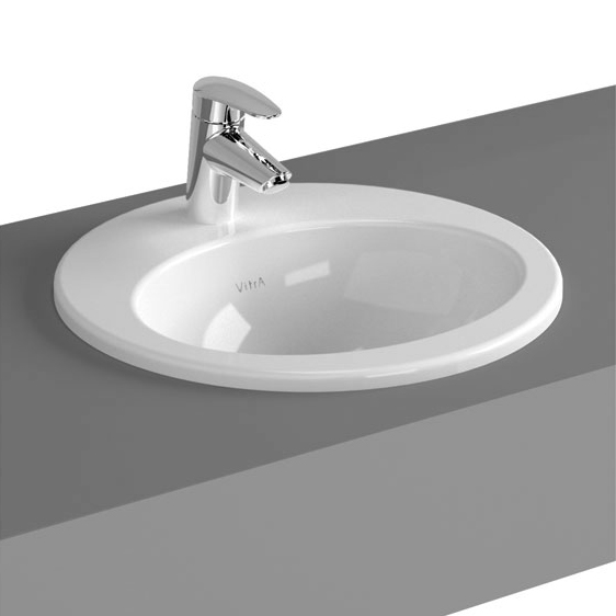 click on S20 Round Countertop Basin image to enlarge