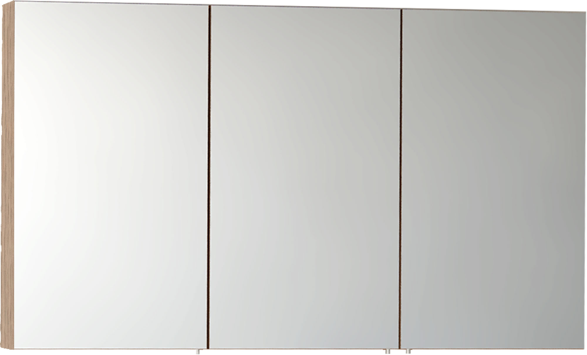 click on Three Door Mirror Cabinet image to enlarge
