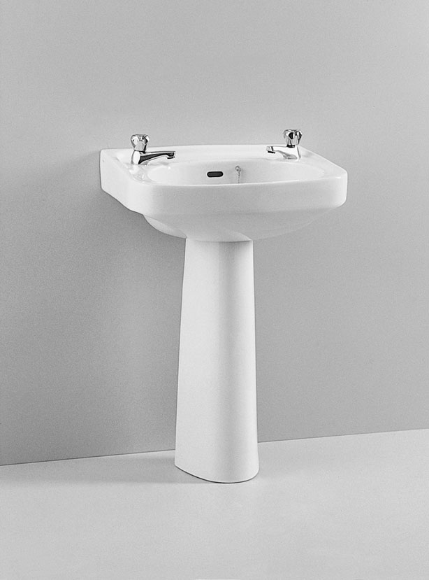 click on Basin and Pedestal image to enlarge