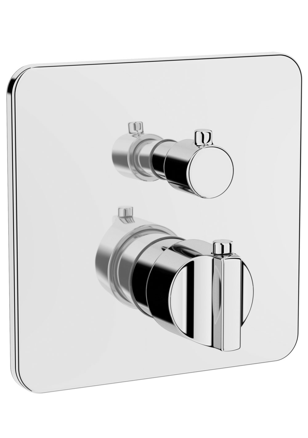 click on Wall Mounted Thermostatic Bath Shower Mixer image to enlarge