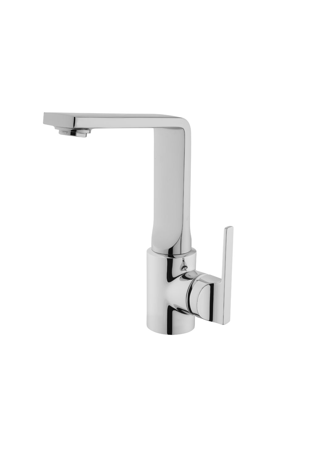 click on Monobloc Basin Mixer with Swivel Spout image to enlarge